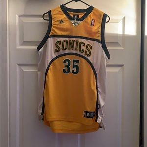 Adidas Seattle SuperSonics Kevin Durant Jersey